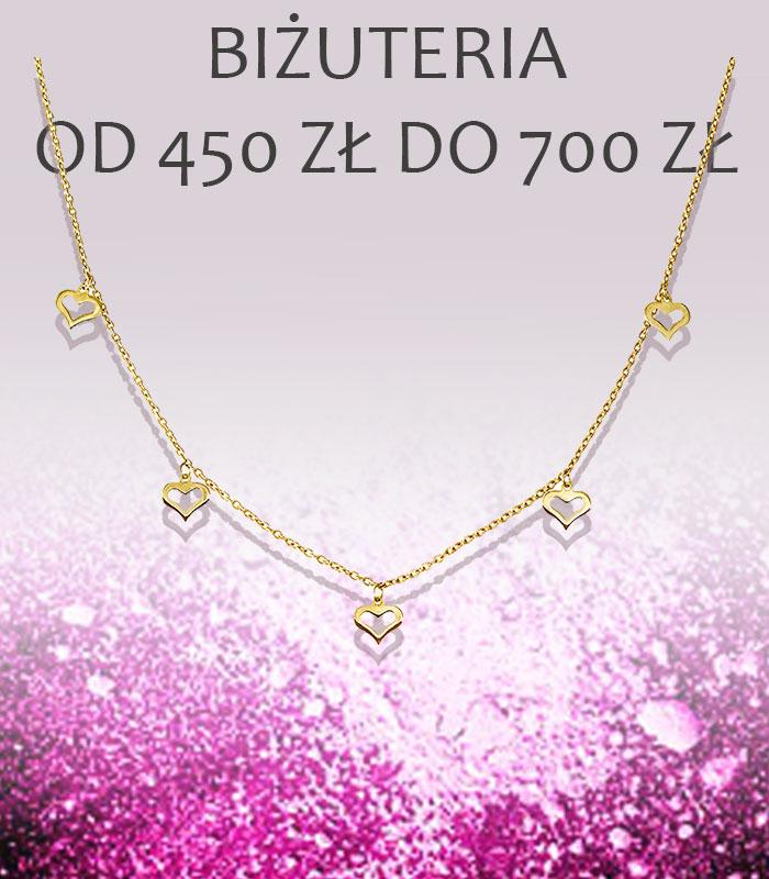 Biżuteria od 250 do 450zł
