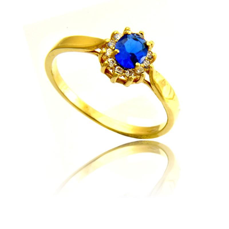 Pierścionek Złoty Zaręczyny