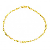 Klasyczna bransoletka z żółtego złota Prezent Grawer GRATIS