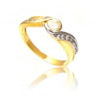 Olśniewający złoty pierścionek