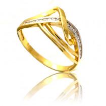 Oryginalny złoty pierścionek