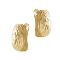 Efektowne złote kolczyki Prezent Grawer GRATIS