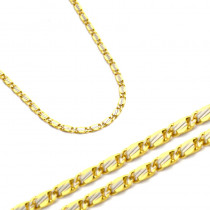 Złoty łańcuszek ozdobny