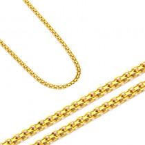 Złoty łańcuszek rodzaj splotu Bismarck