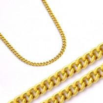 Klasyczny złoty łańcuszek