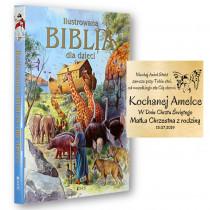 BIBLIA DLA DZIECI PAMIĄTKA CHRZTU KOMUNIA