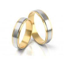Eleganckie obrączki ślubne z estetycznym,błyszczącym wykończeniu