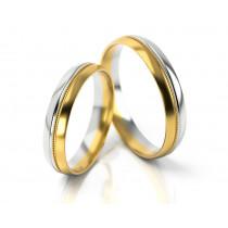 Obrączki ślubne półokrągłe polerowane