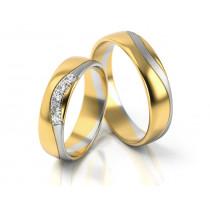 Obrączki ślubne w szykownym stylu