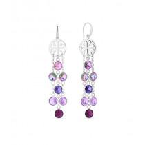 Kolczyki SPARK z kryształów Swarovski® w kolorach Violet, Amethyst, Tanzanite i Vitrail Light