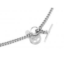 Naszyjnik srebrny z drzewkiem szczęścia