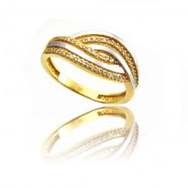 Unikalny złoty pierścionek