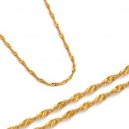 Elegancki złoty łańcuszek