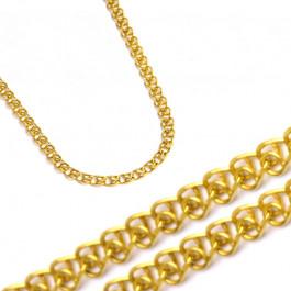 Złoty gustowny łańcuszek