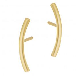 Subtelne złote kolczyki Grawer GRATIS