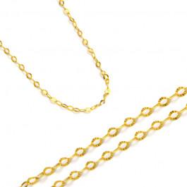 Czarujący złoty łańcuszek