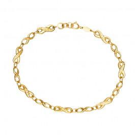 Złota bransoletka Znaki Nieskończoności Grawer GRATIS