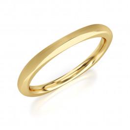 Pierścionek złoty, obrączka klasyczna