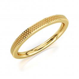 Pierścionek złoty, kunsztowna obrączka