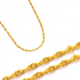 Stylowy złoty łańcuszek