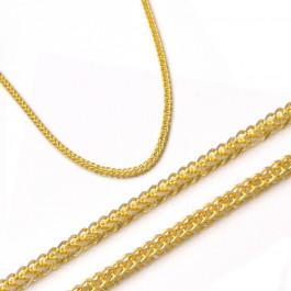 Delikatny złoty łańcuszek