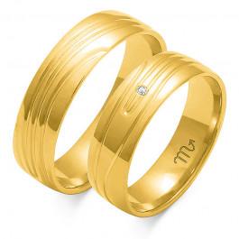 Oryginalne i zachwycające obrączki ślubne z białego złota