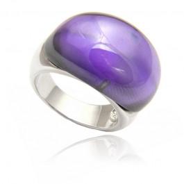 Srebrny pierścionek o wyszukanym wzorze