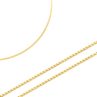 Elegancki złoty łańcuszek niezwykłym splocie Prezent Grawer GRATIS