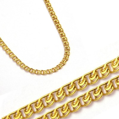 Złoty błyszczący łańcuszek