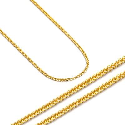 Uroczy złoty łańcuszek