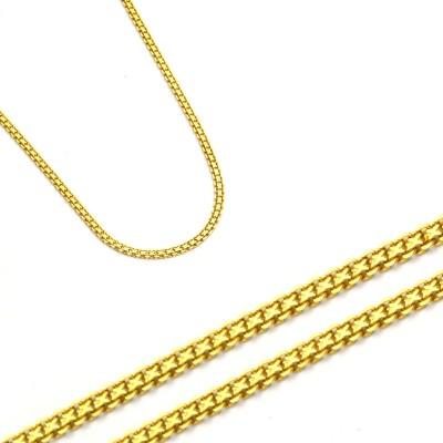Urokliwy złoty łańcuszek