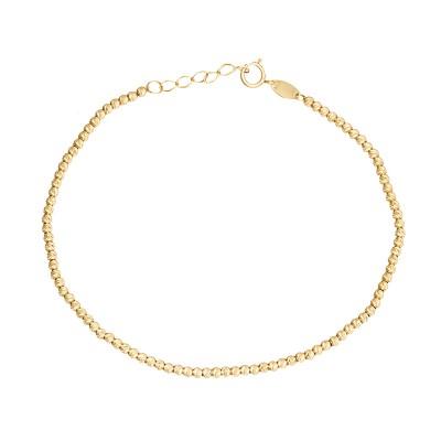Lśniąca diamentowana złota bransoletka Grawer GRATIS