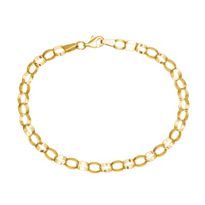 Elegancka złota bransoletka Grawer GRATIS