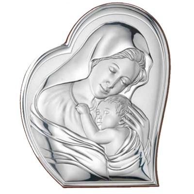 Obrazek sakralny przedstawiający Matka Boża z dzieciątkiem