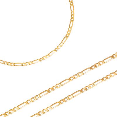 Złoty łańcuszek o eleganckim wykończeniu Prezent Grawer GRATIS