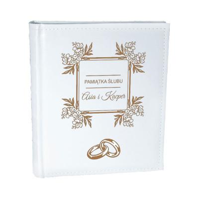 Album z okazji ślubu dla nowożeńców