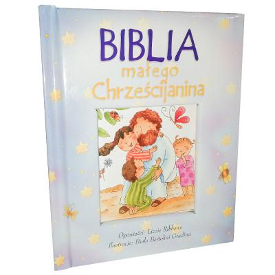 Biblia dla dziecka prezent na chrzest komunię