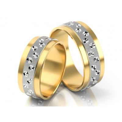 Szykowne dwukolorowe obrączki ślubne