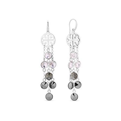 Kolczyki SPARK z kryształów Swarovski® w kolorach Crystal, Black Diamond i Jet Hematite