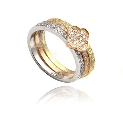 Oryginalny srebrny pierścionek