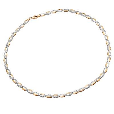 Elegancki złoty naszyjnik nieskończoność Prezent Grawer GRATIS