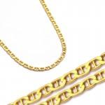 Złoty łańcuszek o splocie Gucci