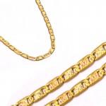 Złoty łańcuszek diamentowany