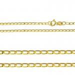 Klasyczny złoty łańcuszek Prezent Grawer GRATIS