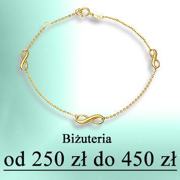 Biżuteria od 250 do 450 zł